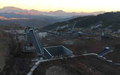 Puesta en marcha instalación de trituración y clasificación de áridos en Argelia