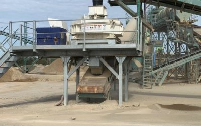 Automated sand installation H.A.T.