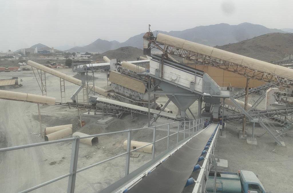 Miningland inaugura la ampliación de una instalación de trituración y clasificación de Gabro en Fujaira, Emiratos Arabes Unidos
