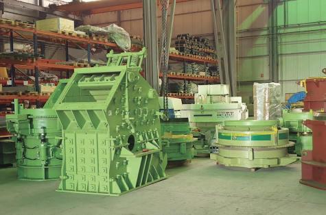Miningland ofrece los últimos equipos nuevos fabricados por Triman
